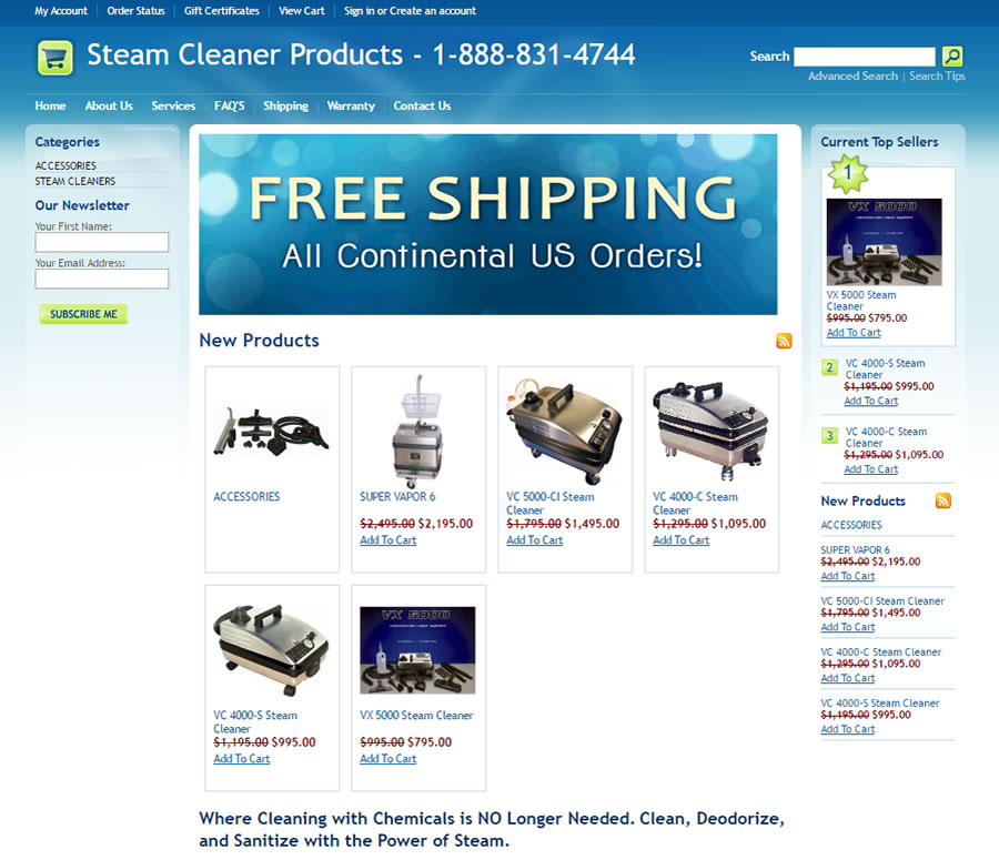 steamcleanerproducts.com